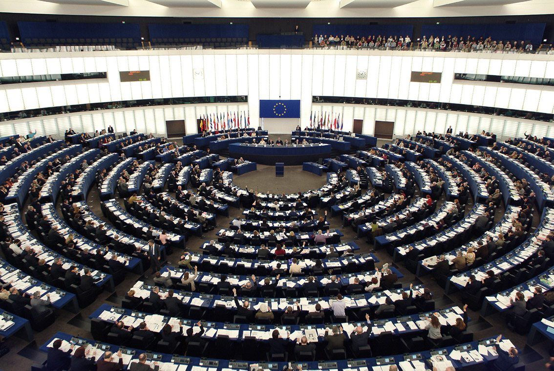 Elezione dei membri del parlamento europeo spettanti all for Streaming parlamento